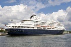 Skandinavisch cruiseschip Stock Foto's