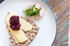 Skandinavisch kernachtig brood royalty-vrije stock afbeeldingen