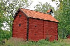 Skandinavisch landbouwbedrijf, Zweden Royalty-vrije Stock Afbeeldingen