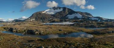 Skandinavisch landschap royalty-vrije stock foto