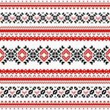 Skandinavisch patroon Royalty-vrije Stock Foto's