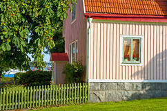 Skandinavische architectuur Royalty-vrije Stock Afbeelding