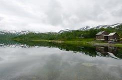Skandinavische bergen Stock Foto