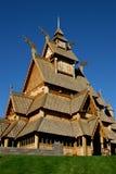 Skandinavische Kirche Stockfoto