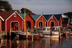 Skandinavische kust Royalty-vrije Stock Foto