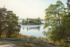 Skandinavische Natur Stockfotografie