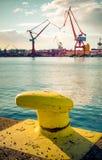 Skandinavischer Hafen Stockfotografie