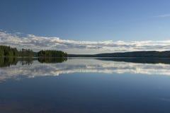 Skandinavischer See Stockfotos