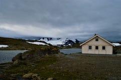 Skandinavischer Sommer in Norwegen stockbild
