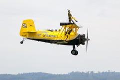 Skandinavisches airshow - Brücke Lizenzfreie Stockbilder