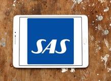 Skandinaviska flygbolag, SAS logo Arkivbilder