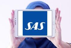 Skandinaviska flygbolag, SAS logo Royaltyfri Foto