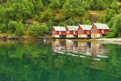 Skandinaviskt hus Royaltyfri Foto