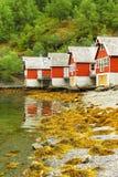 Skandinaviskt hus arkivbild