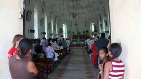 Skandowanie w kościół TIONA zbiory wideo