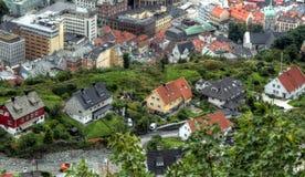Skandynawska miastowa eksploracja na chmurnym dniu obrazy royalty free