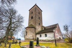 Skanela, Σουηδία - 1 Απριλίου 2017: Εκκλησία Skanela, Σουηδία Στοκ εικόνα με δικαίωμα ελεύθερης χρήσης