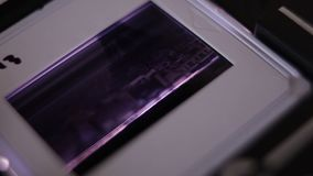 Skanować 35mm obruszenia zdjęcie wideo