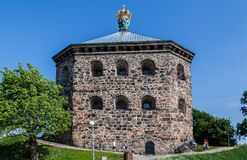 Skansen Kronan Gothenburg Sweden. Skansen Kronan fortress with the swedish crown on its top, Gothenburg, Sweden Stock Photography