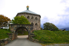 Skansen Kronan. Is a redoubt in the district of Haga of Gothenburg Royalty Free Stock Image