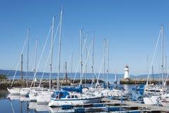 Skansen marina Trondheim Royalty Free Stock Photography