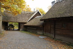Skansen - the Oktorp farmstead Stock Photography