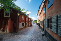Skansen open-air museum in Stockholm, Sweden. Royalty Free Stock Photo