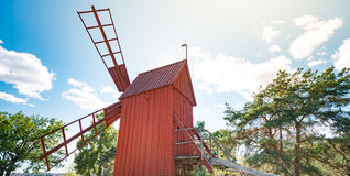 Skansen open-air museum in Stockholm, Sweden. Royalty Free Stock Photos