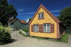 Skansen in Oslo Royalty Free Stock Images