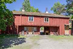Skansen Park Building Stockholm Sweden Royalty Free Stock Image