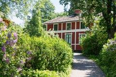Skansen Park Stockholm Sweden Stock Photo