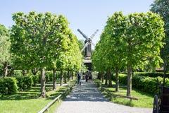 Skansen Park Windmill Stockholm Sweden Royalty Free Stock Images