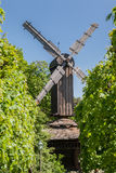 Skansen Park Windmill Stockholm Sweden. A typical swedish wood windmill in Skansen Park Stockholm Sweden Stock Image