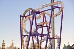 Skansen stockholm Rollercoaster Stock Photography