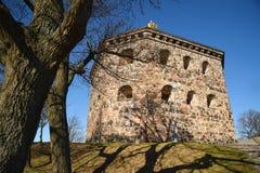 Skansenowski Kronan redoubt, Szwecja Gotehburg Obraz Royalty Free