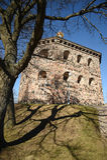 Skansenowski Kronan redoubt, Szwecja Gotehburg Obraz Stock