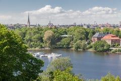 Skansenowski Parkowy Sztokholm Szwecja Obrazy Stock