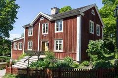 Skansenowski Parkowy Sztokholm Szwecja Obrazy Royalty Free