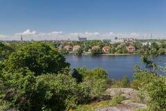 Skansenpark Stockholm Zweden Royalty-vrije Stock Fotografie