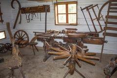 Skanzen Vesely Kopec, historical industrial Stock Photo