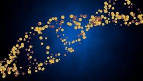 Skapa DNAtråden arkivfilmer