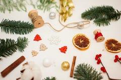Skapa stora vintersammansättningar handgjort Fotografering för Bildbyråer