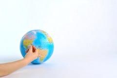 skapa världen Arkivfoto