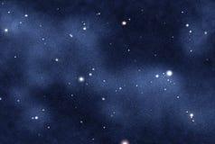 skapad digital starfield Royaltyfri Fotografi