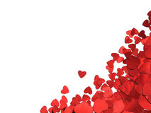 skapad hjärta målad fotografform för konst bakgrund Royaltyfri Foto