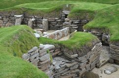 Skara Brae, A Neolithic Settlement In The Coast Of Mainland Island, Orkney, Scotland Royalty Free Stock Photography