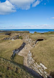 Skara Brae, Orkney, Scotland Royalty Free Stock Images