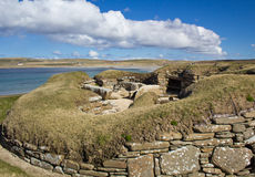 Skara Brae World Heritage Site Stock Image