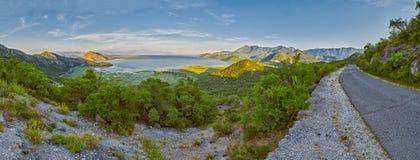 Skarar Lake of Montenegro Stock Photos