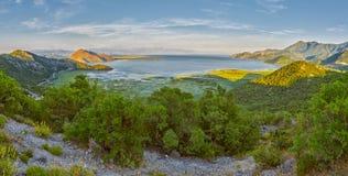 Skarar Lake of Montenegro Royalty Free Stock Photo